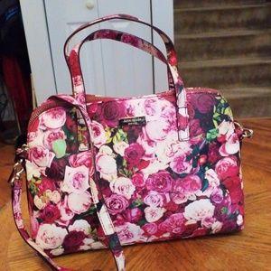 Kate Spade floral satchel